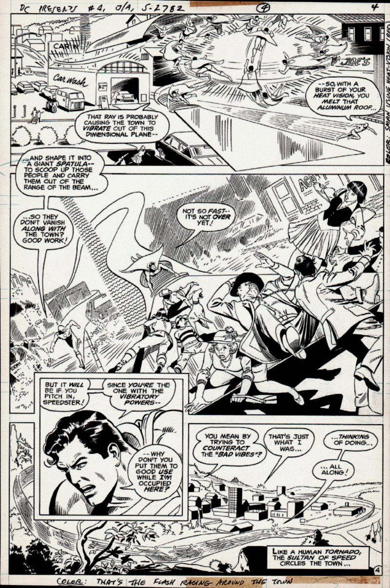 DC Comics Presents #1 p 4 (FIRST ISSUE) 1978