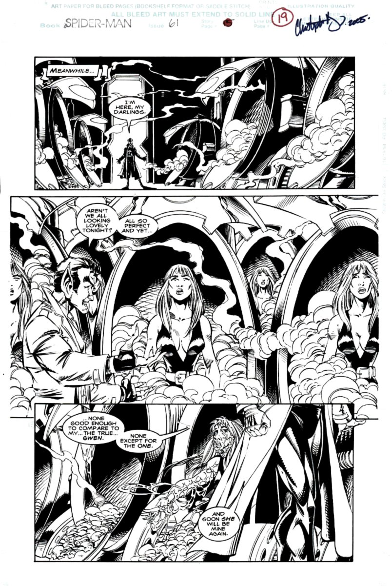 Spider-Man #61 p 19 SOLD LIVE ON 'DUELING DEALERS PRO-AM' EPISODE #7 PODCAST ON 9-14-2021 (RE-WATCH THIS FUNNY ART SELLING SHOW HERE)