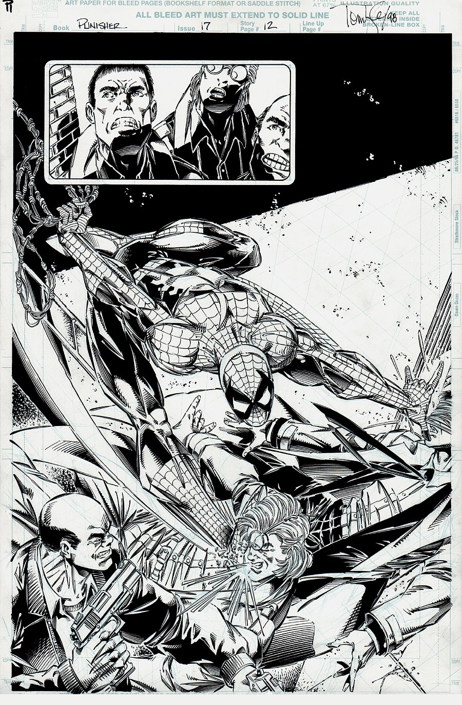 Punisher #17 p 12 SPLASH (1996)