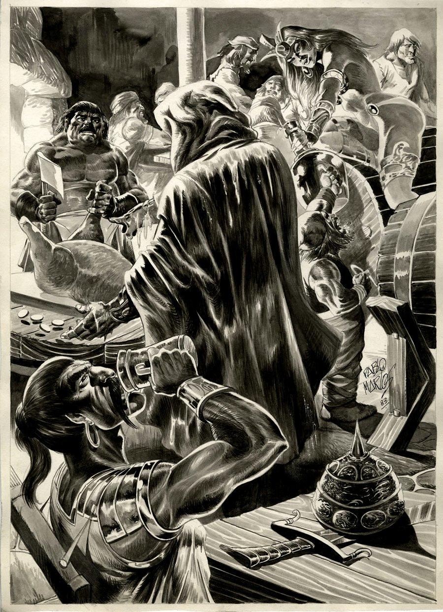 Savage Sword of Conan #88 p 60 SPLASH (1983)