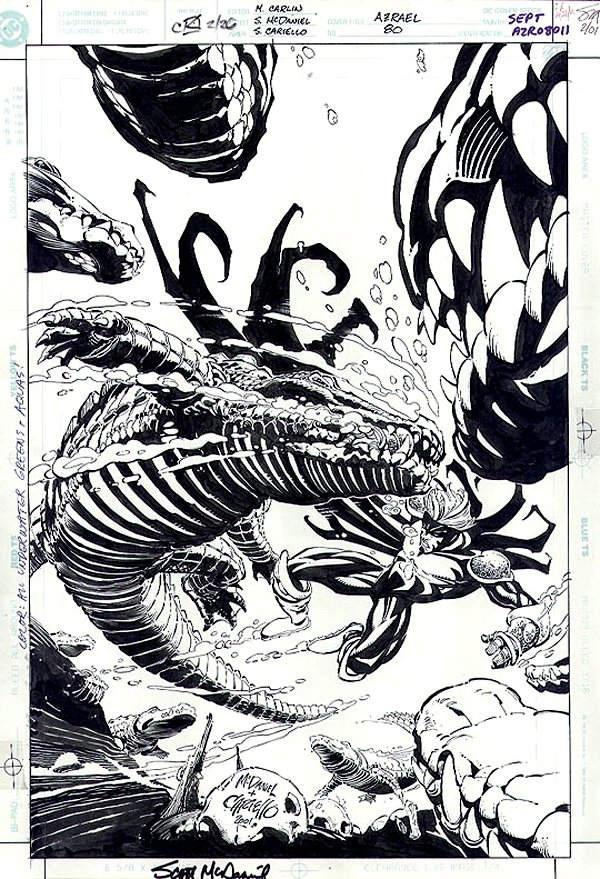 Azrael: Agent of the Bat #80 Cover (2001)