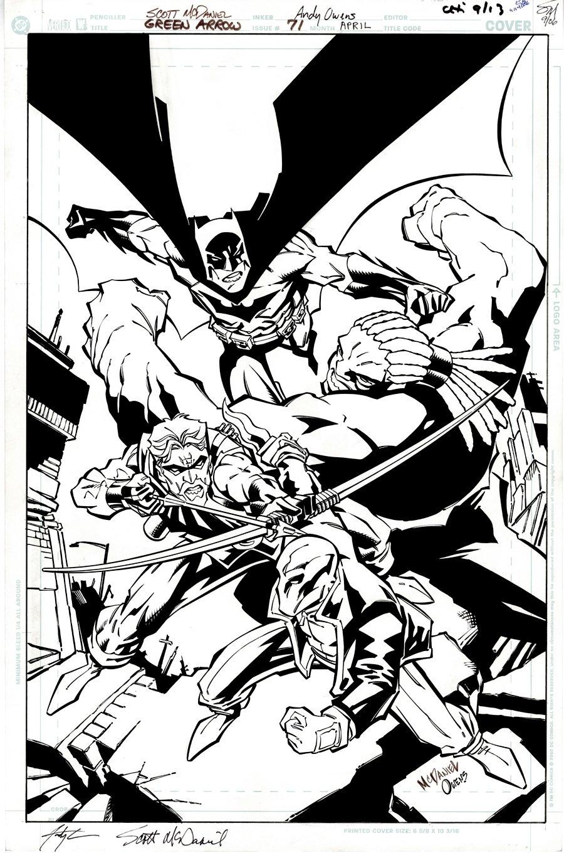 Green Arrow #71 Cover (Green Arrow, Batman!) 2006