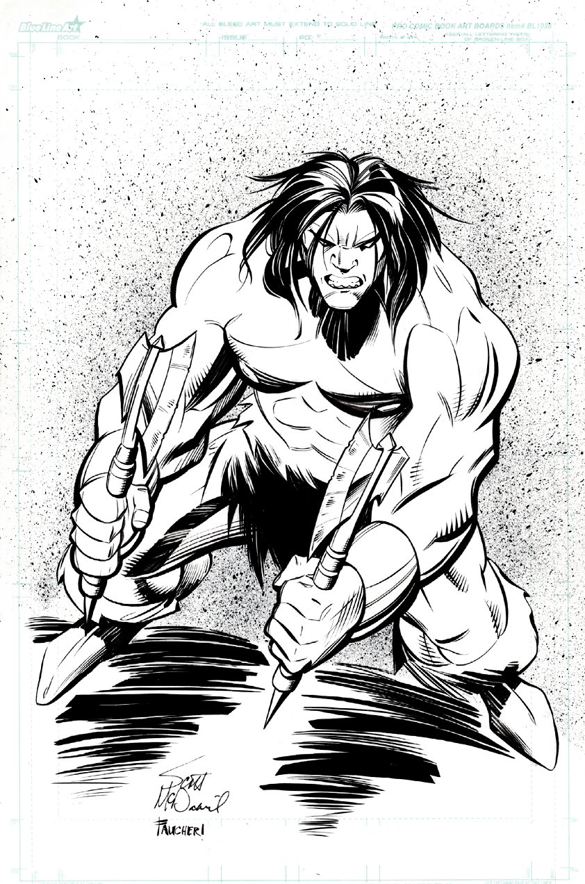 Conan Pinup
