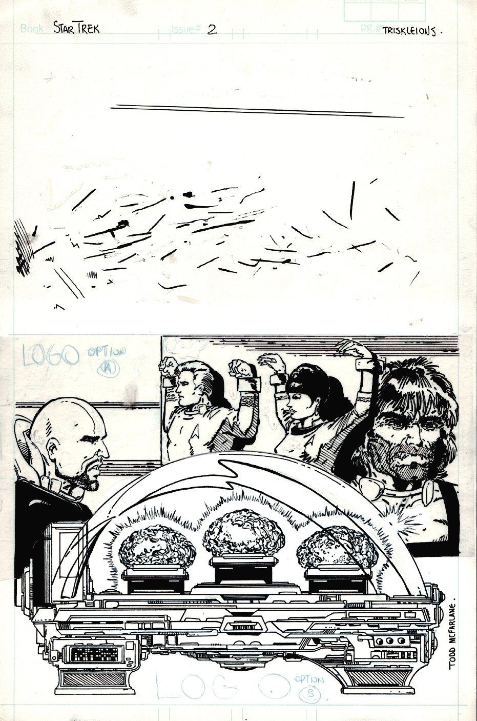 Who's Who in Star Trek #2 SPLASH (1987)