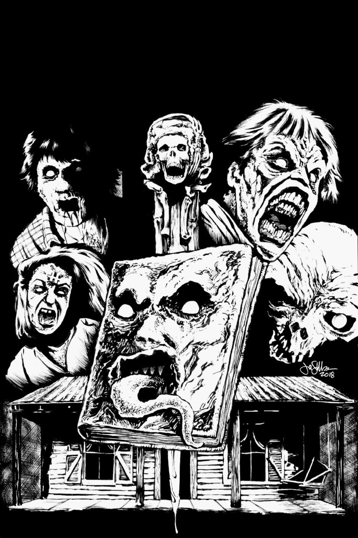 Evil Dead Published Magazine Cover (2018)