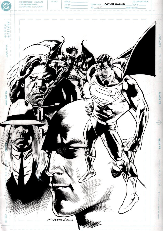 Action Comics #795 Cover (Superman & Lex Luthor!) 2002