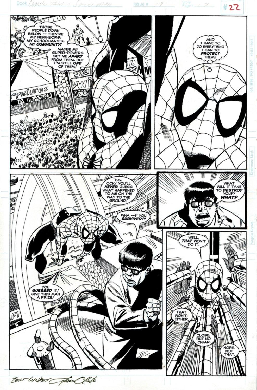 Untold tales Of Spider-Man #19 p 17 (Spiderman Battles Doc Ock Throughout!) 1996