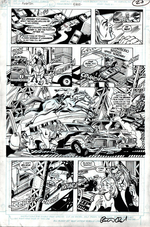 The Phantom #4 p 20 (Large Art) 1988
