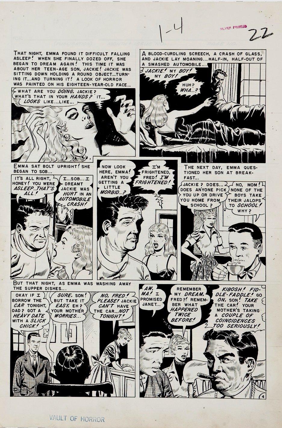 Vault of Horror #24 p 4 (Large Art) 1952