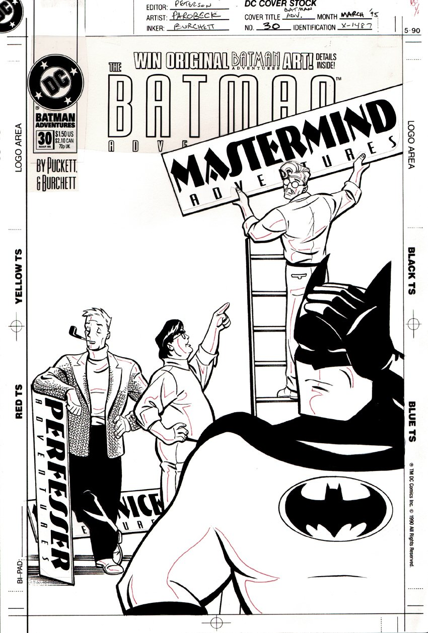 Batman Adventures #30 Cover (1995)