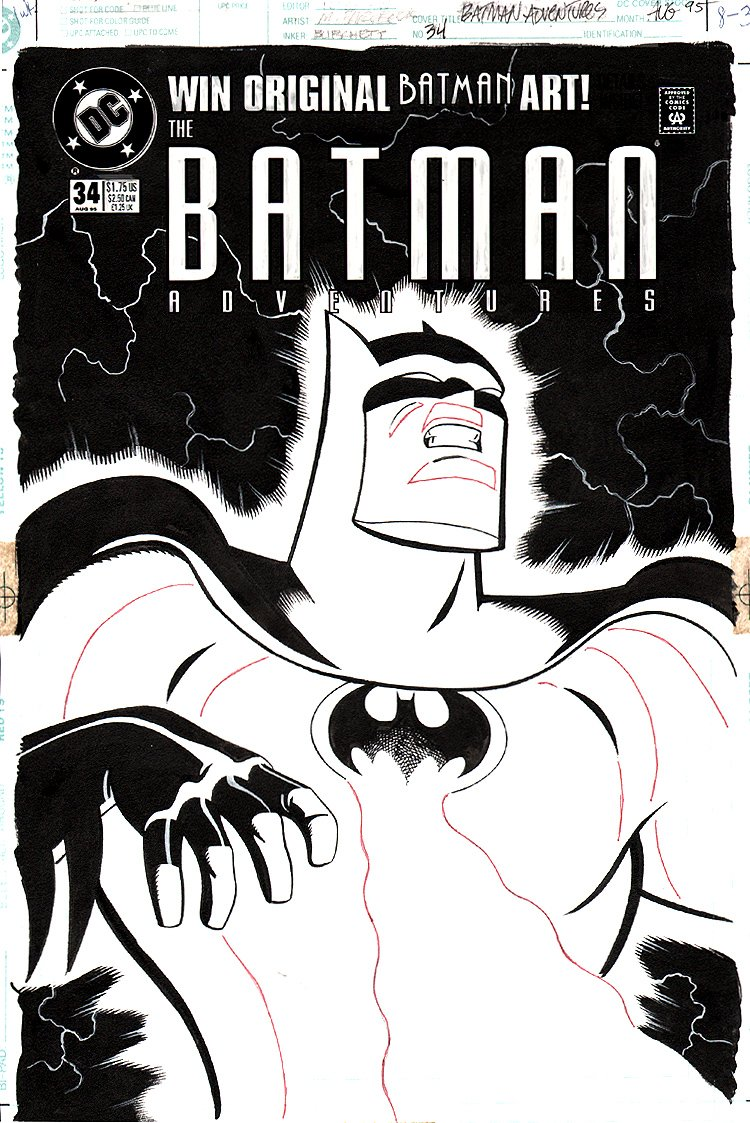 Batman Adventures #34 Cover (1995)