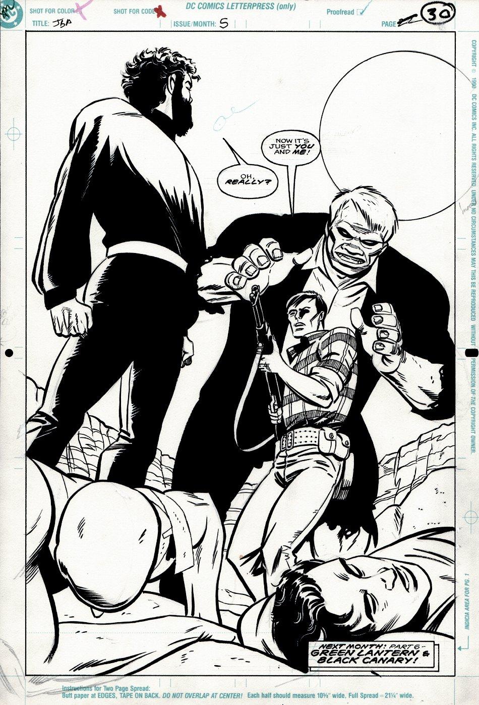 Justice Society of America #5 SPLASH (SOLOMON GRUNDY) 1992