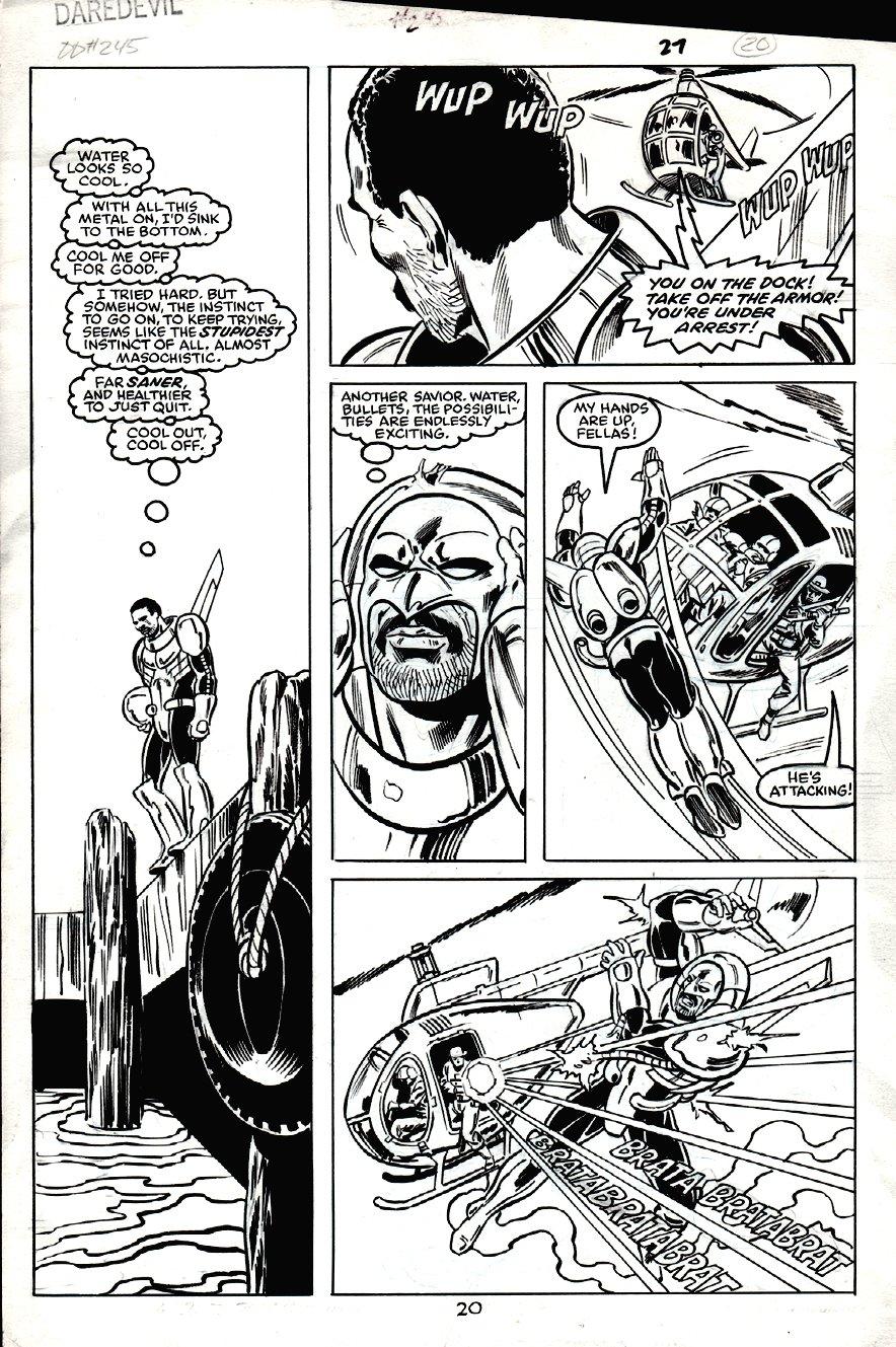Daredevil #245 p 20 (1987)
