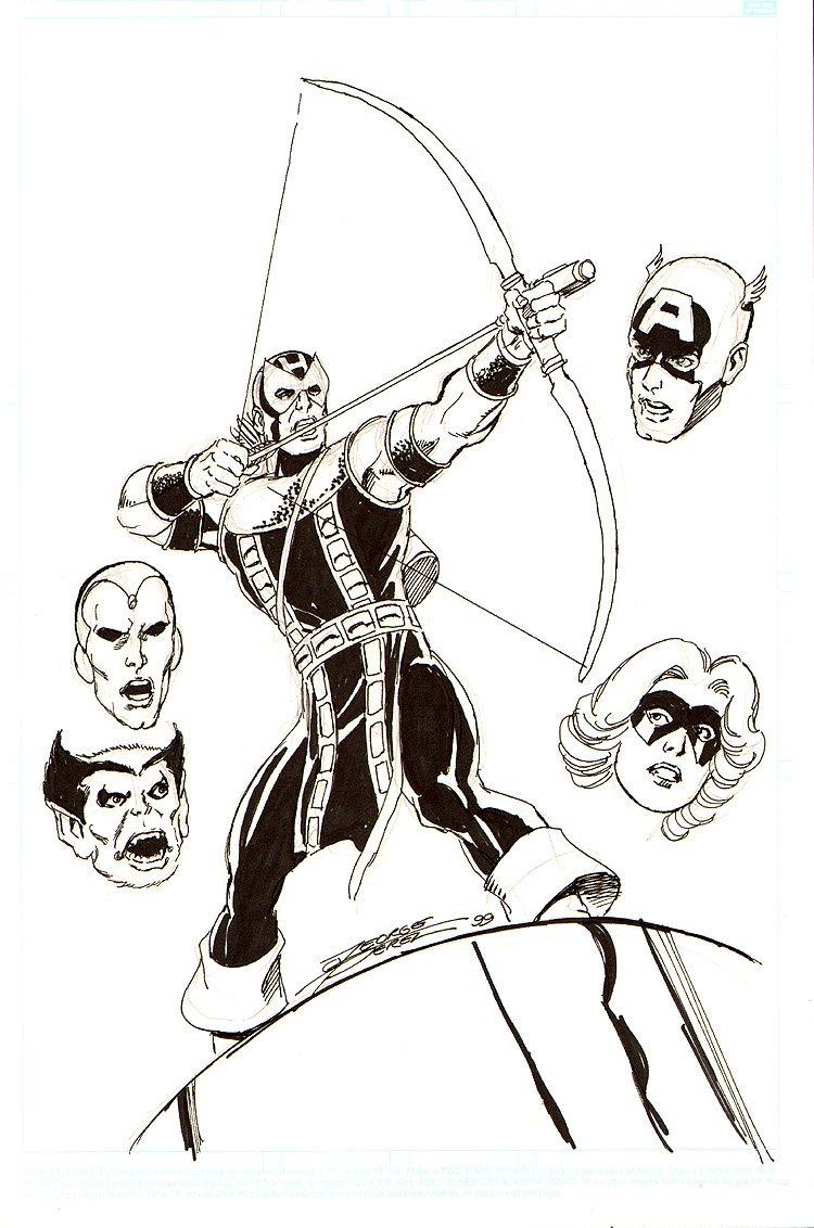 Avengers #172 Cover Recreation