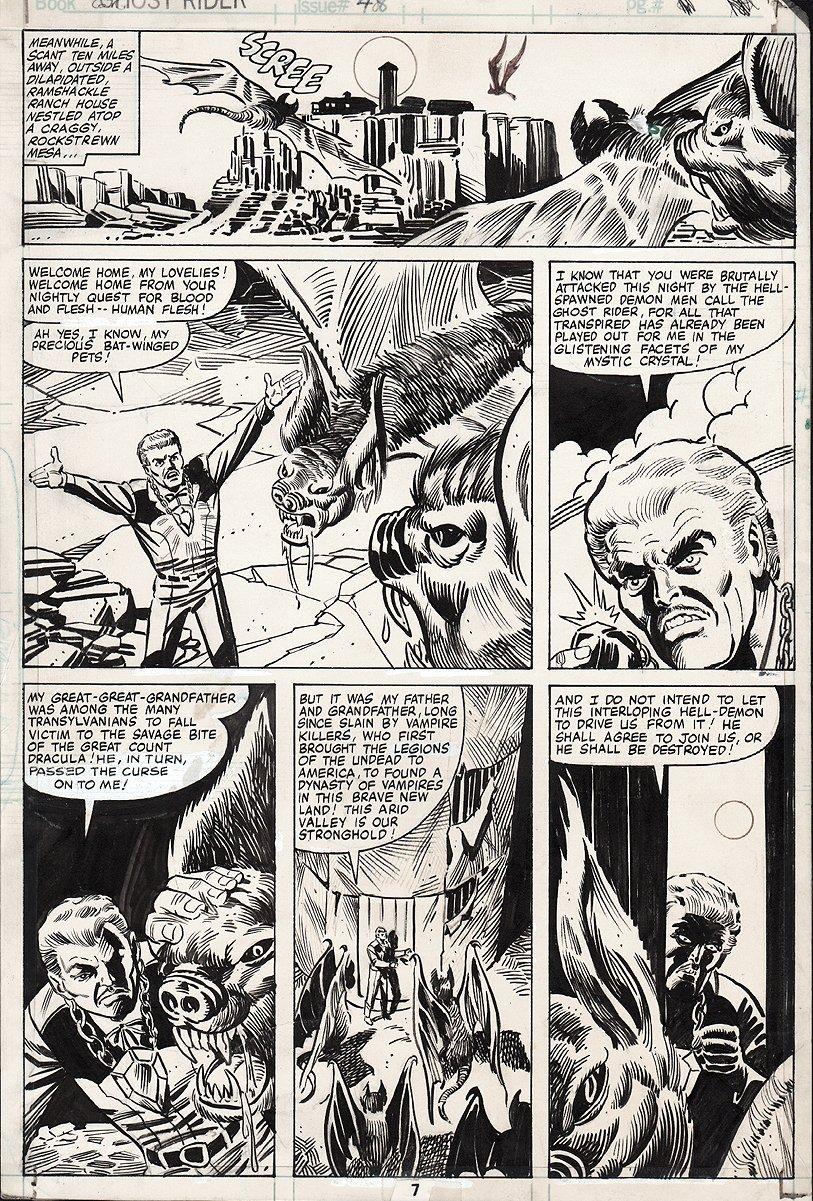 Ghost Rider #48 p 7 (1980)