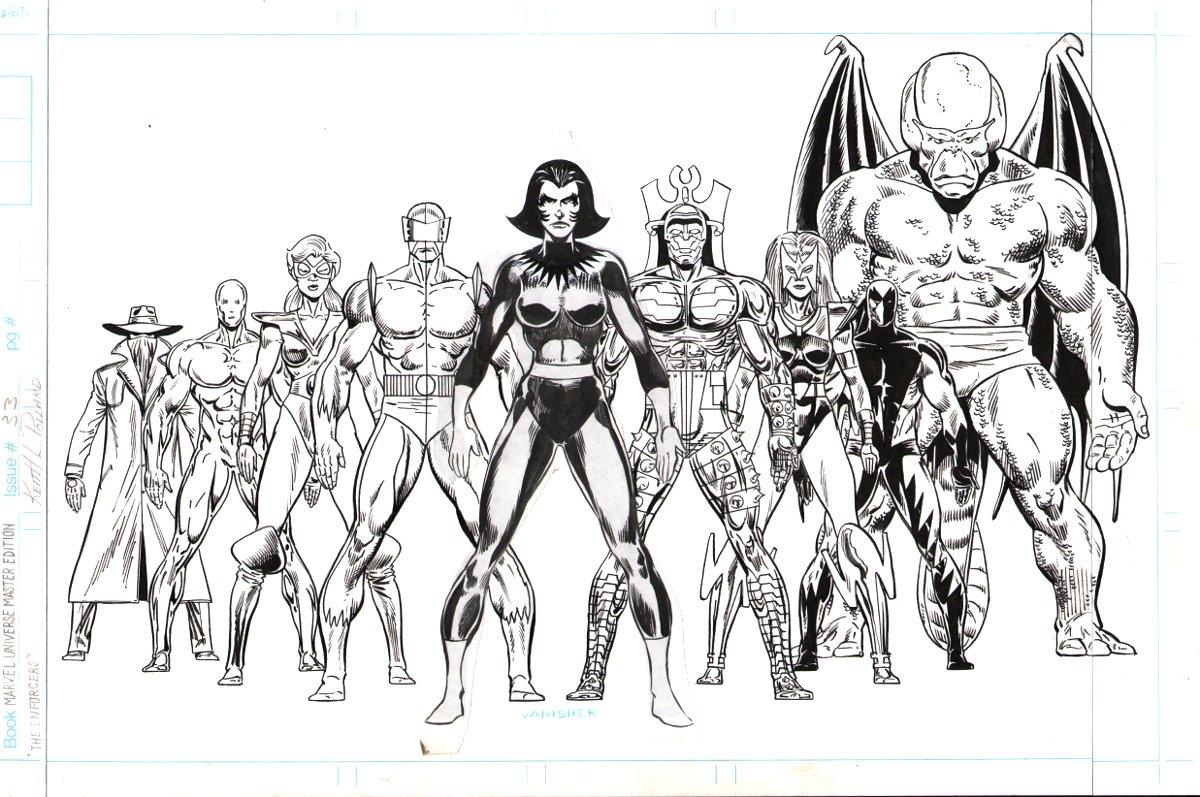 Marvel Universe Master Edition #33 - Enforcers
