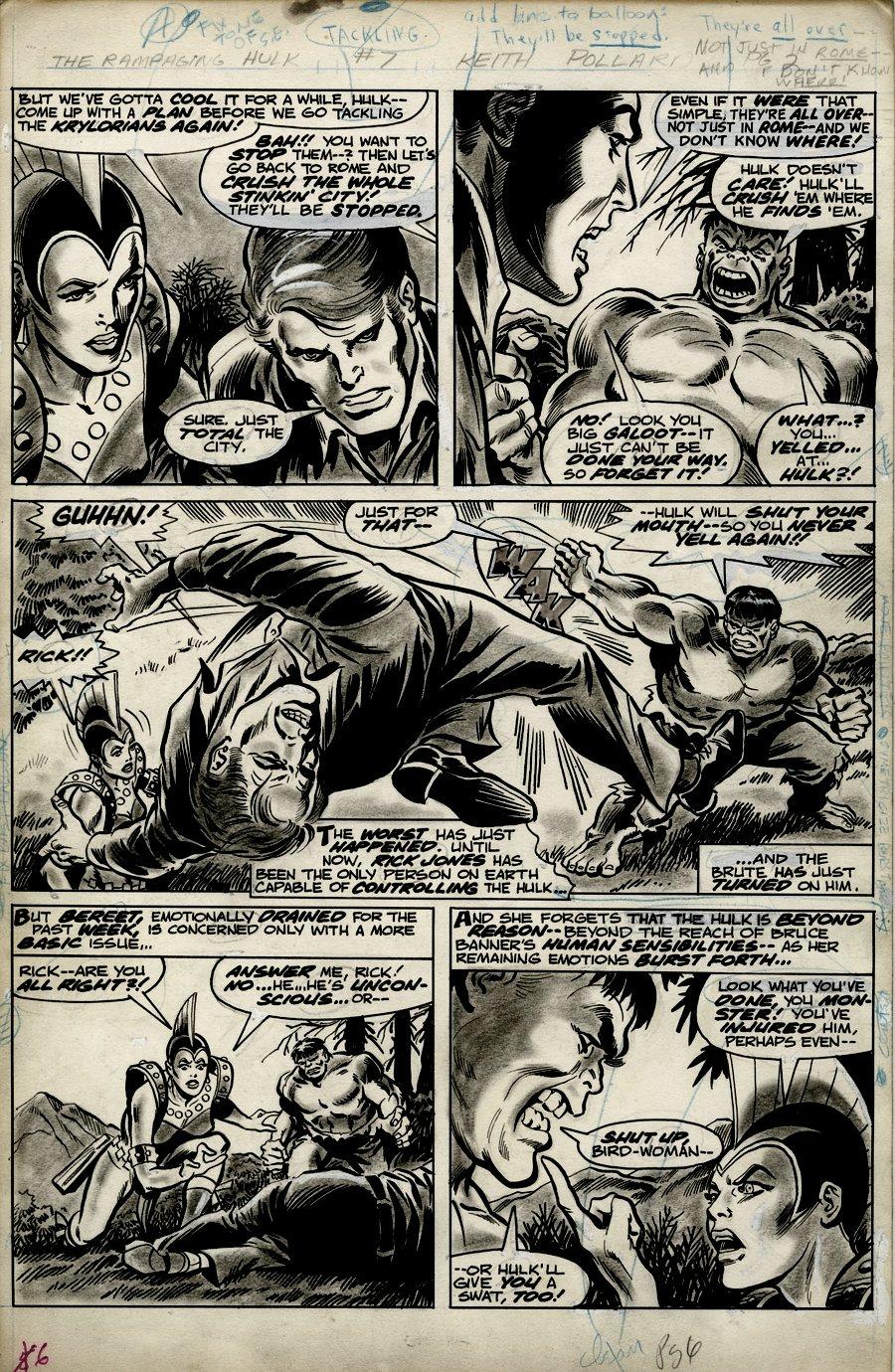 Rampaging Hulk #7 p 6 (1977)