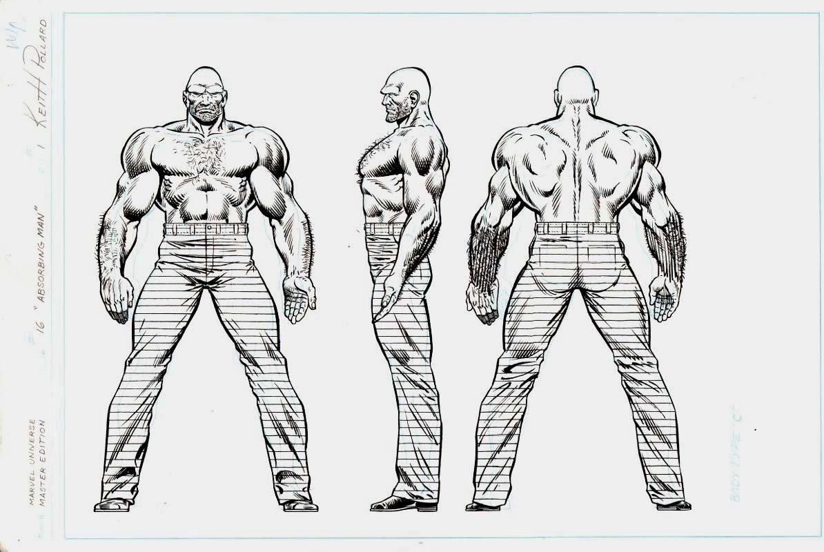 Marvel Universe- Master Edition #16 p 1 Absorbing Man Pinup