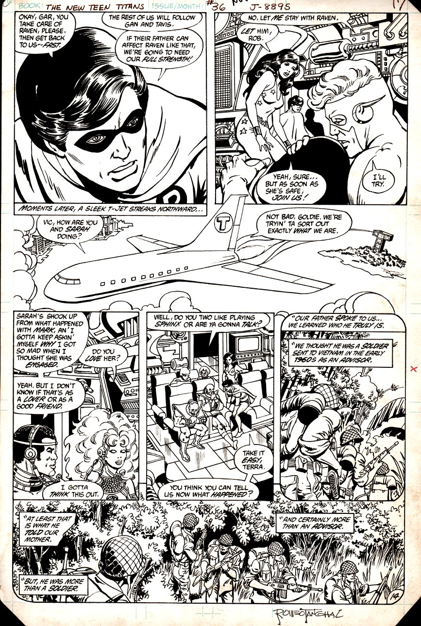 New Teen Titans #36 p 14 (1983)