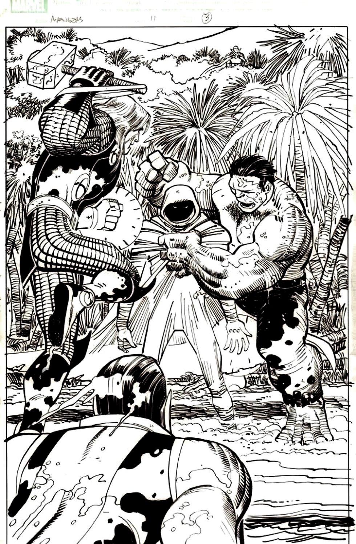 Avengers #11 p 3 SPLASH (2011)