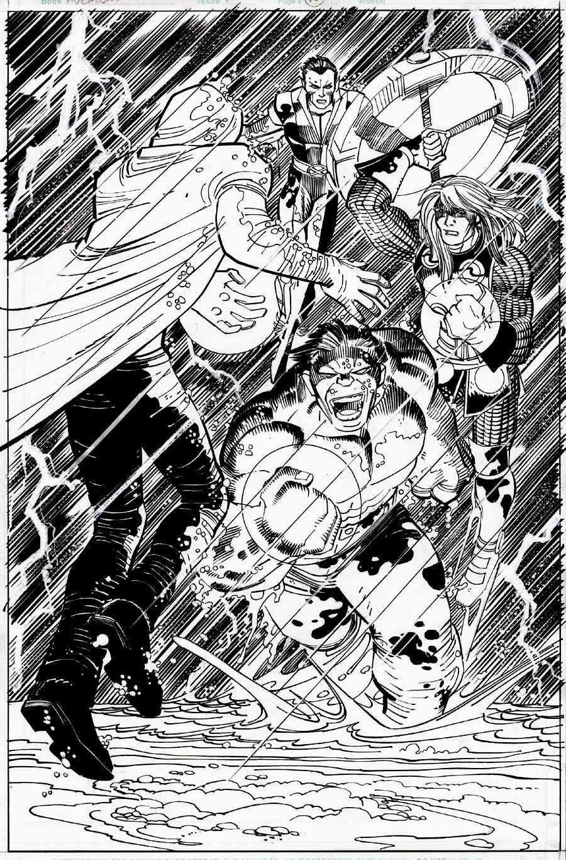 Avengers #11 p 10 SPLASH (2011)