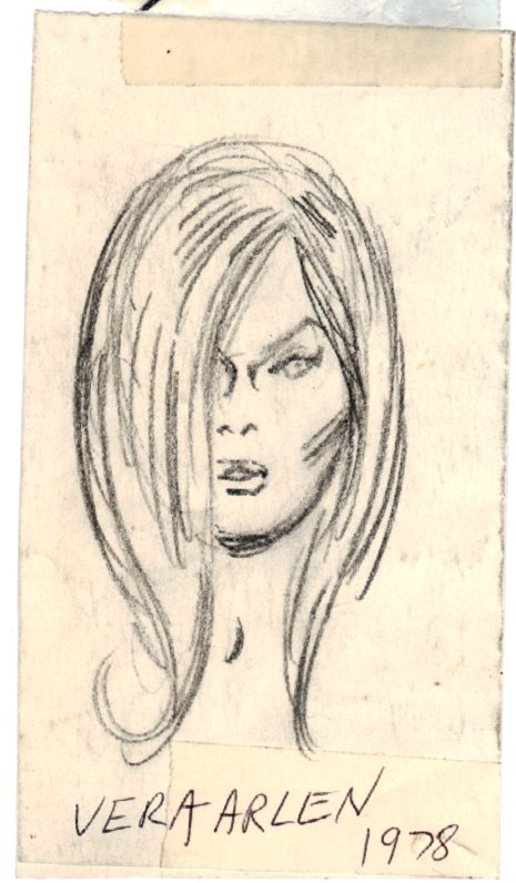 'GLO GIRL' ASM 70s STRIP Style Guide (SOLD LIVE ON 'DUELING DEALERS OF COMIC ART' EPISODE #28 PODCAST ON 8-2-2021