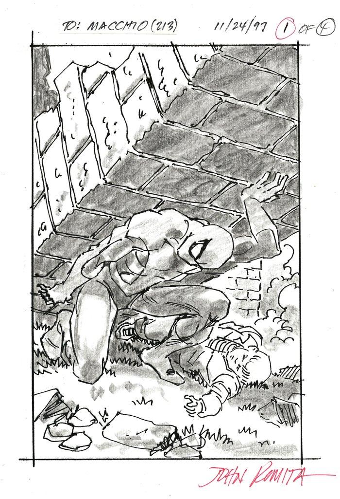 Spider-Man Cover Design (1997)