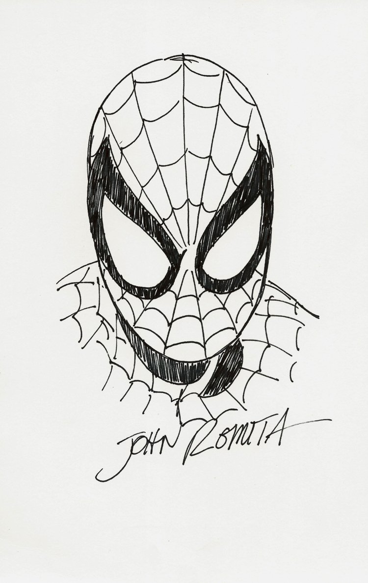 Spiderman Nice Portrait Pinup