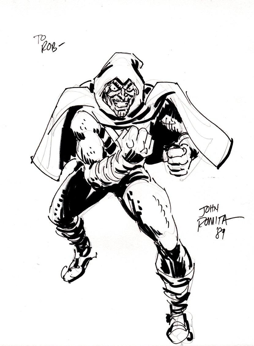 Hob-Goblin Penciled & Inked Pinup (1989)