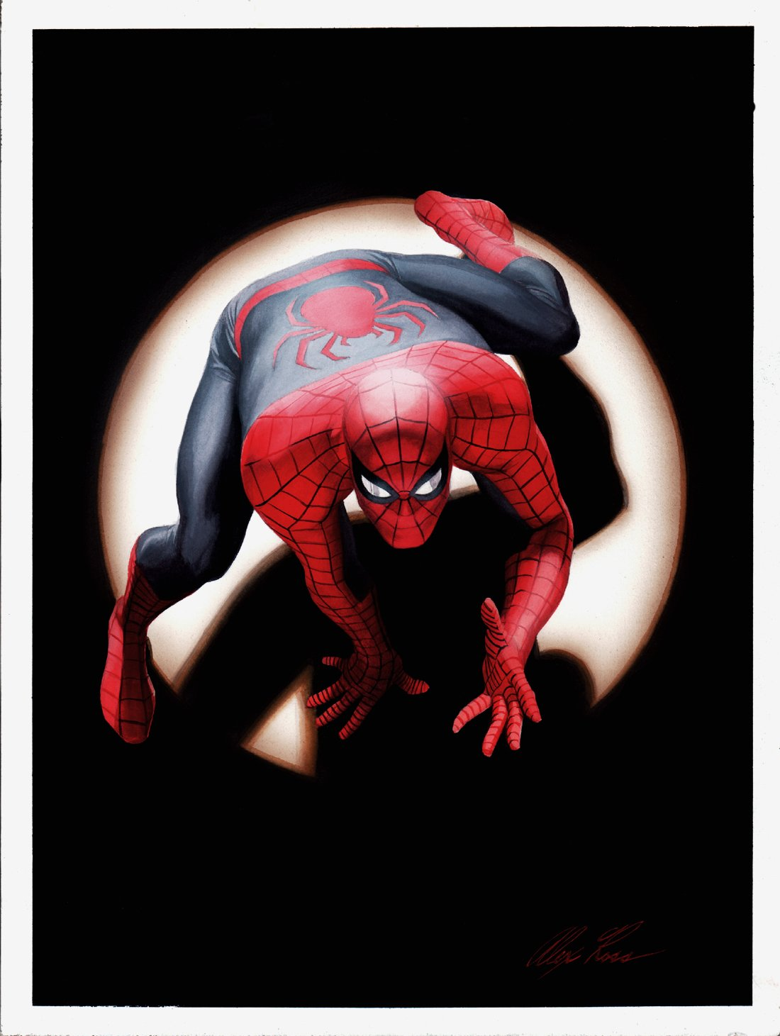 'MARVELS' 25th Anniversary Cover Painting & Spider-Man Poster Art (2018)