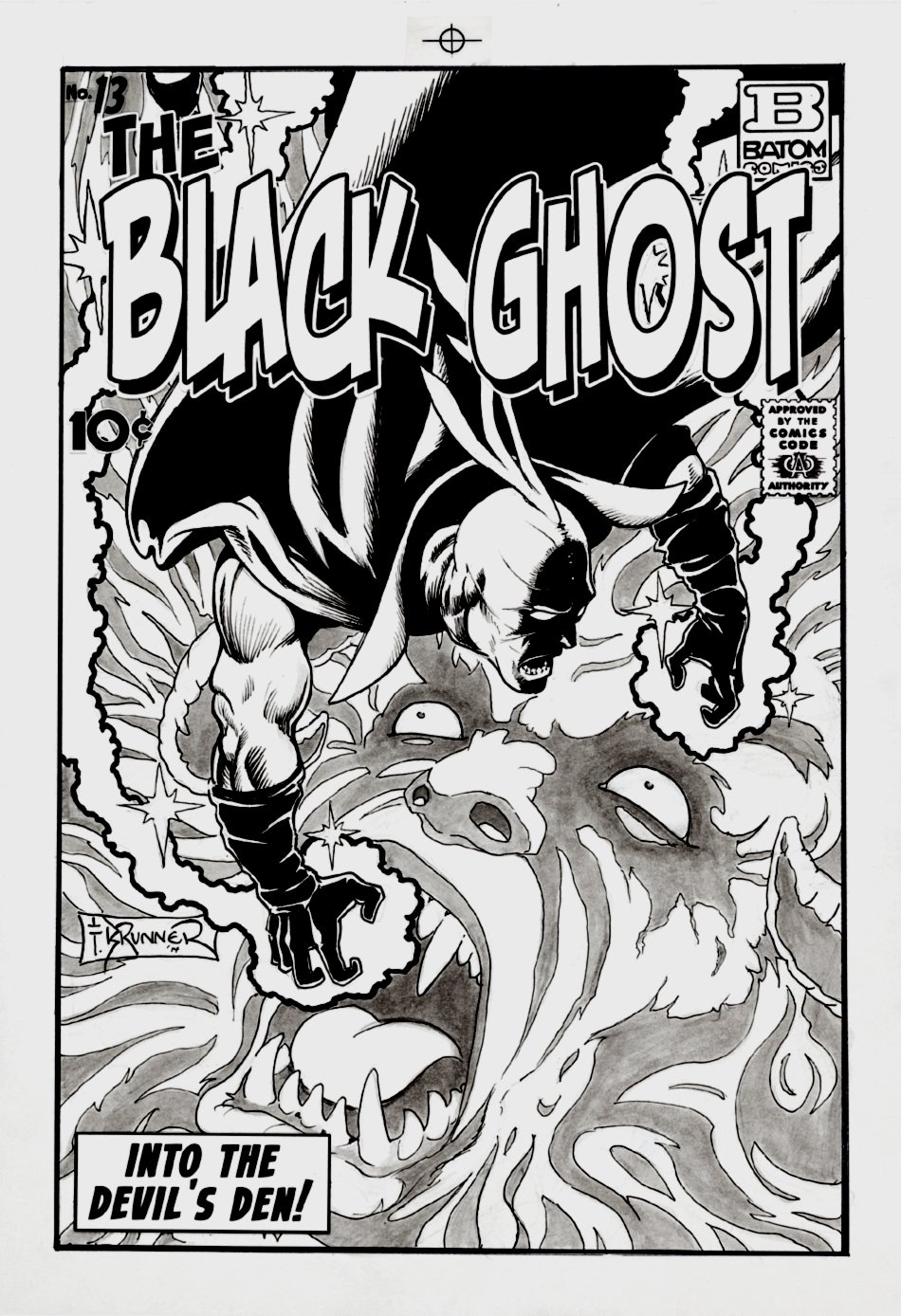 Black Ghost #13 Cover (2014)