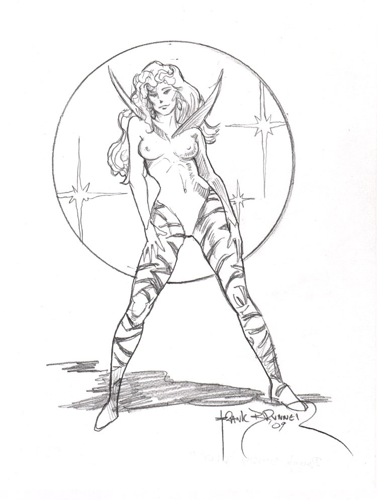 CLEA Pencil Pinup