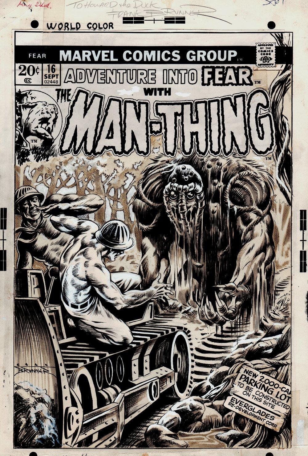 Adventure Into Fear #16 Cover (1973)