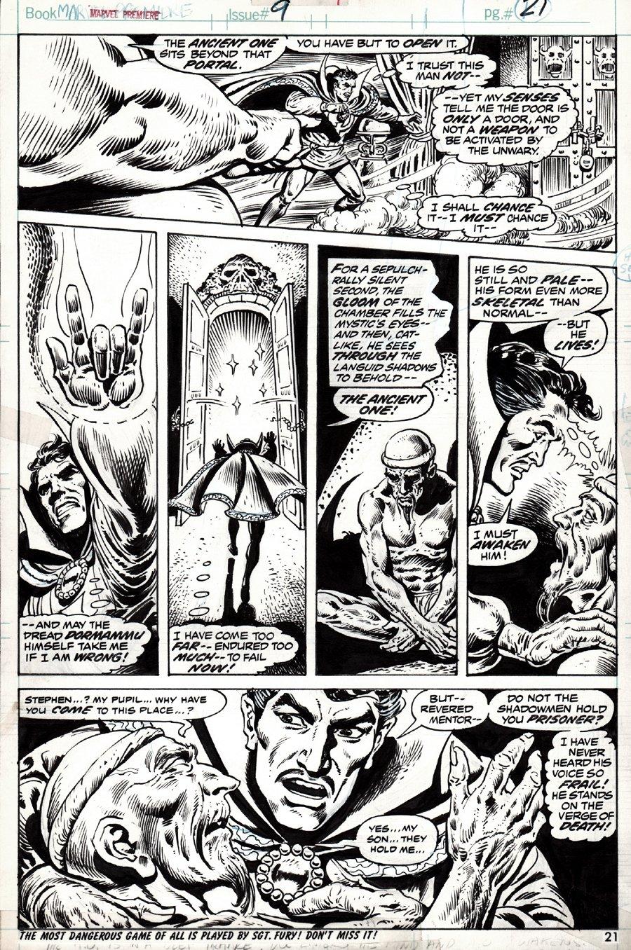Marvel Premiere #9 p 21 (1973)