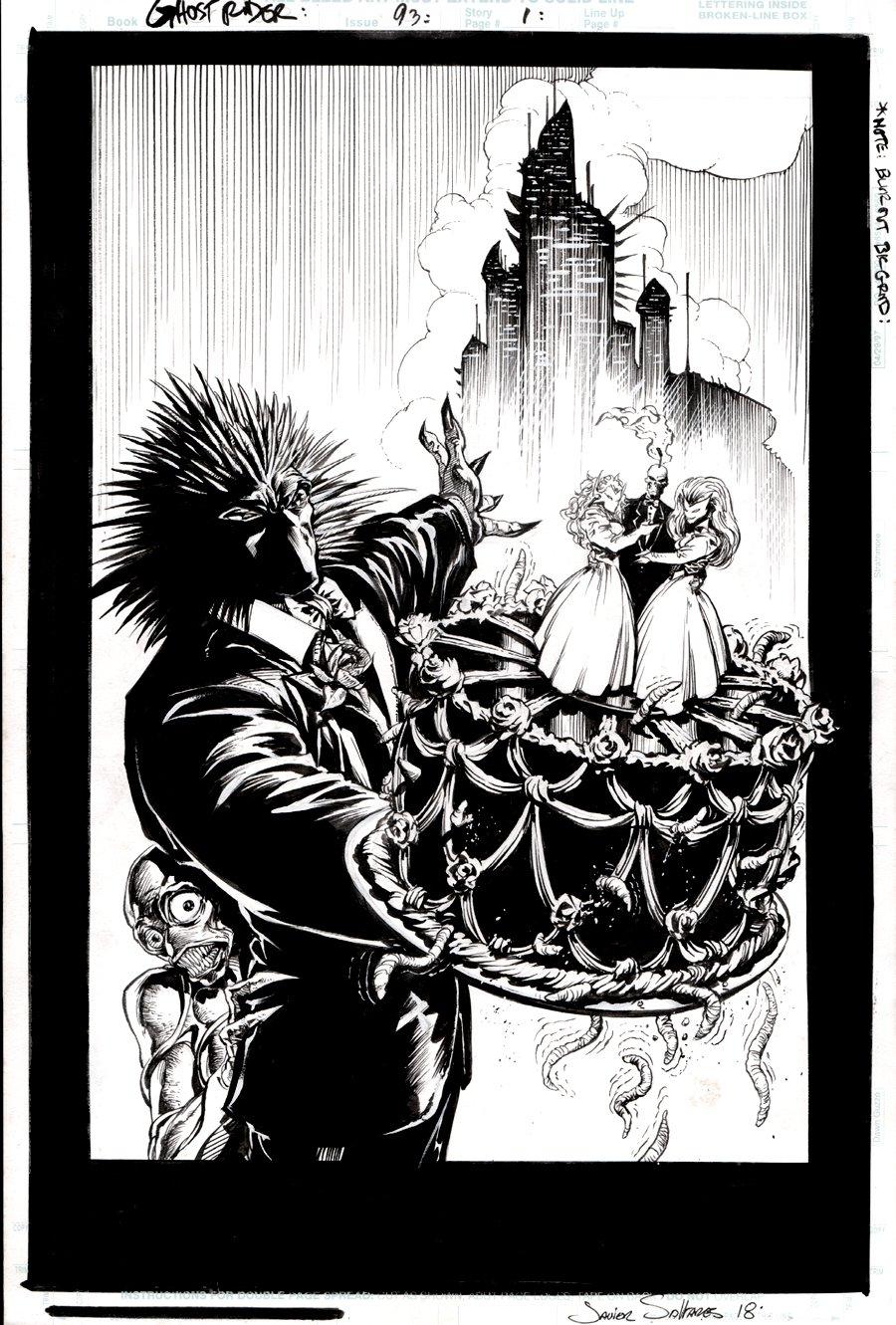 Ghost Rider #93 p 1 SPLASH (1997)
