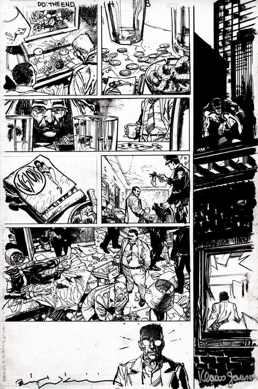 Daredevil: End of Days #4 p 8 (DEATH OF BULLSEYE!) 2012