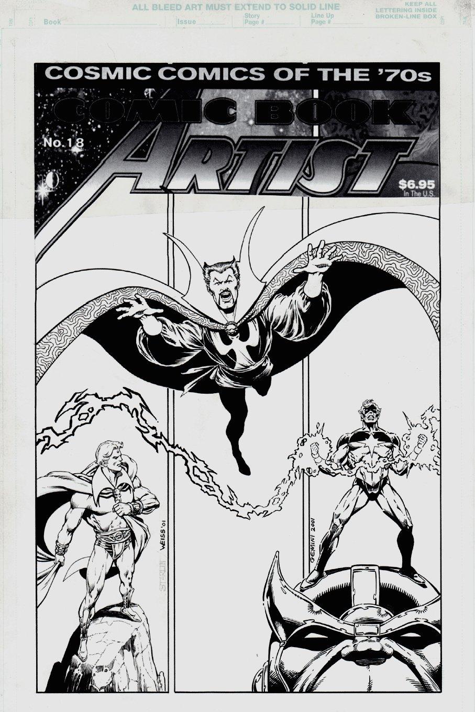 Comic Book Artist #18 Cover (2001)