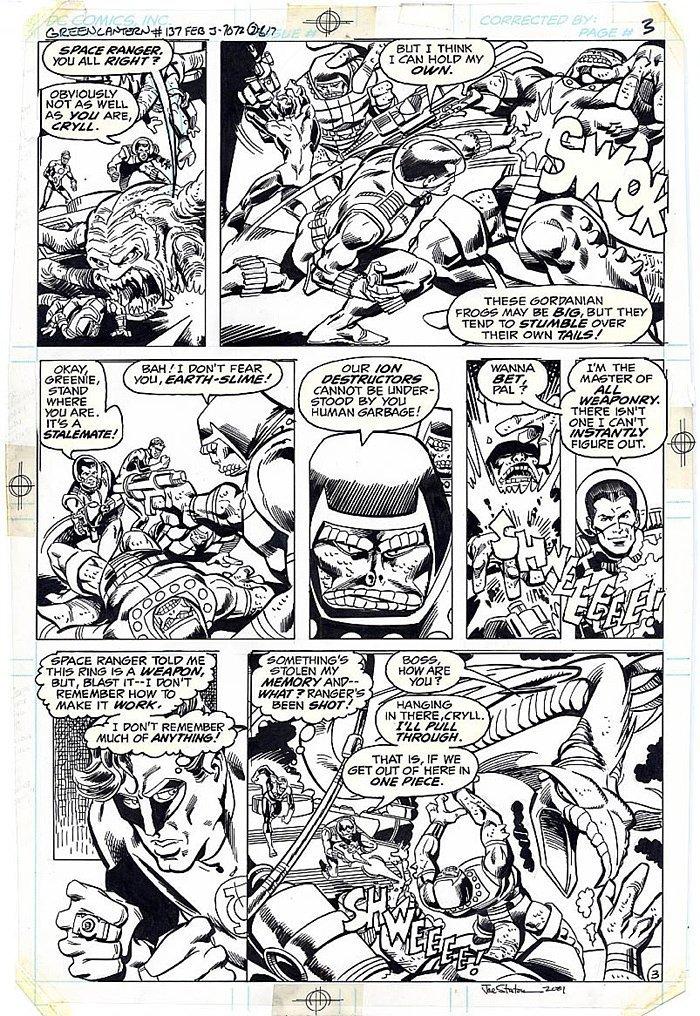 Green Lantern #137 p 3 (1980)