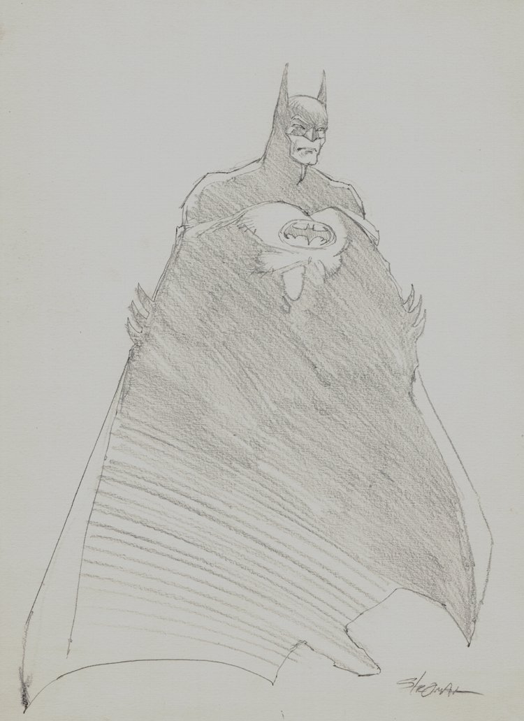 Batman Full Body Pinup