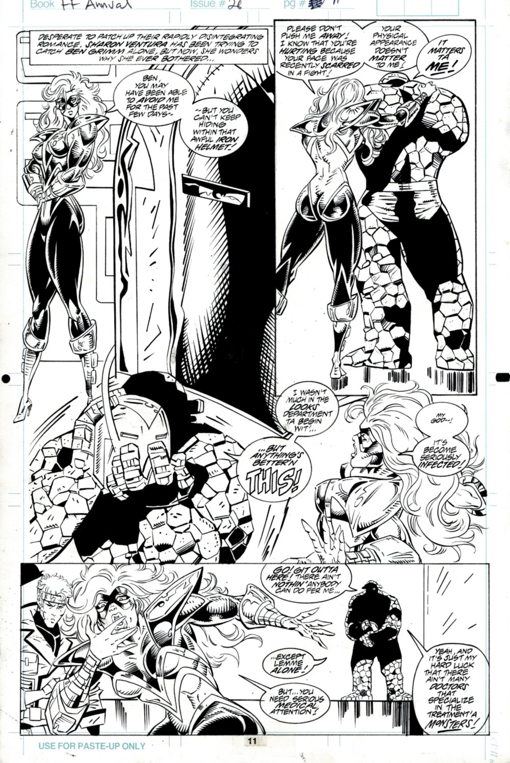 Fantastic Four Annual #26 p 11 (SOLD LIVE ON THE ROMITAMAN ART DROP PODCAST ON 10-9-2021