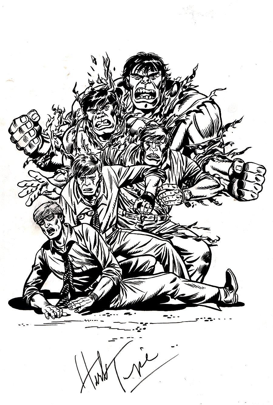 Marvel Treasury Edition #5 Back Cover Recreation