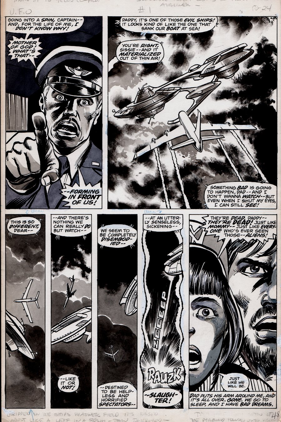 Marvel Preview #13 p 48 (Science Fiction Wash Tone Story!) 1977