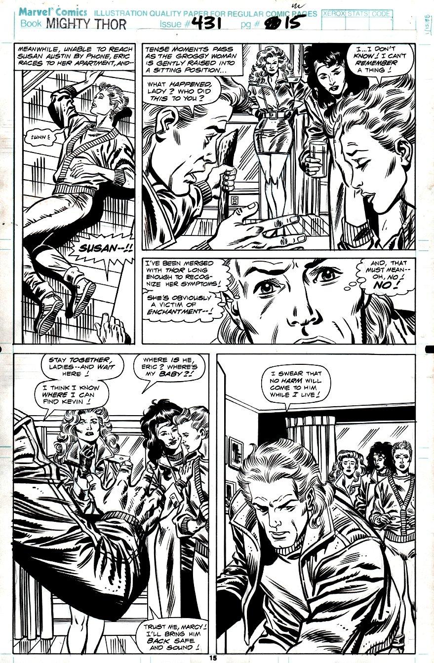 Thor #431 p 15 (1991)