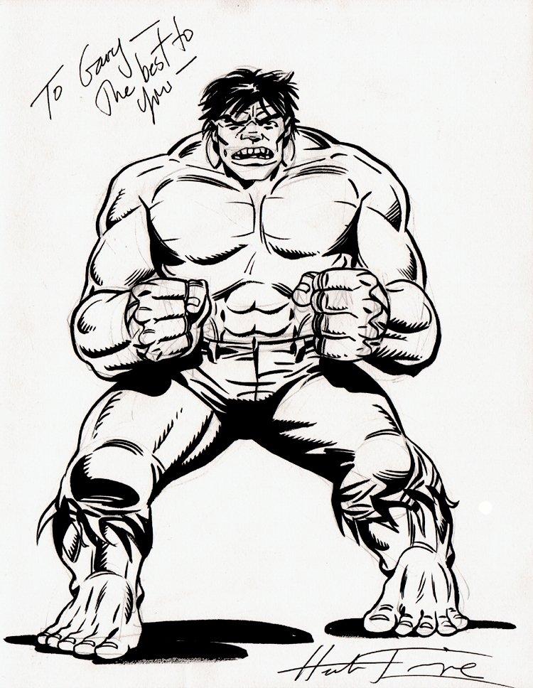 Incredible Hulk Pinup