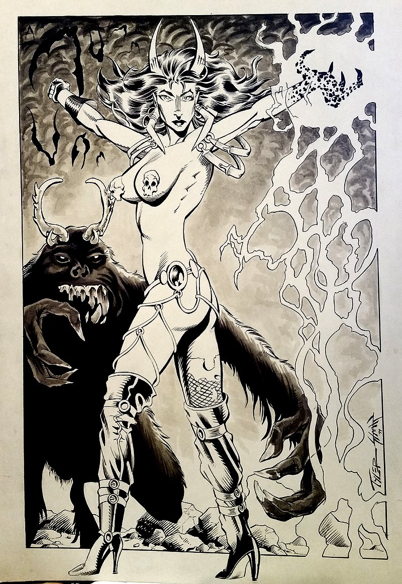Necrotika #1 Cover (1994)