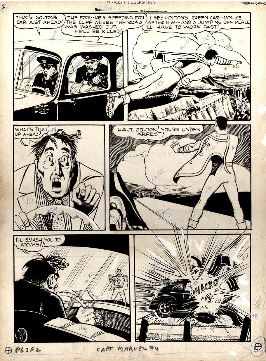 Captain Marvel Adventures #4 p 14 (Large Art) 1941