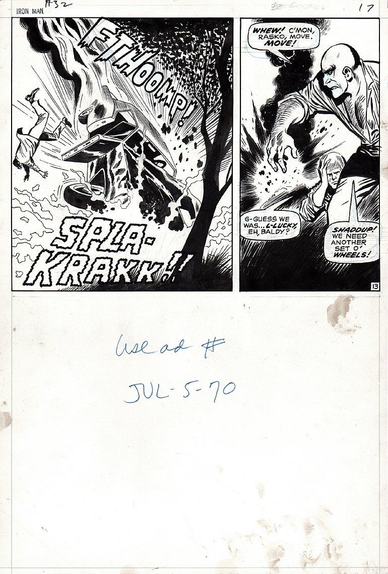 Iron Man #32 p 13 (1970)