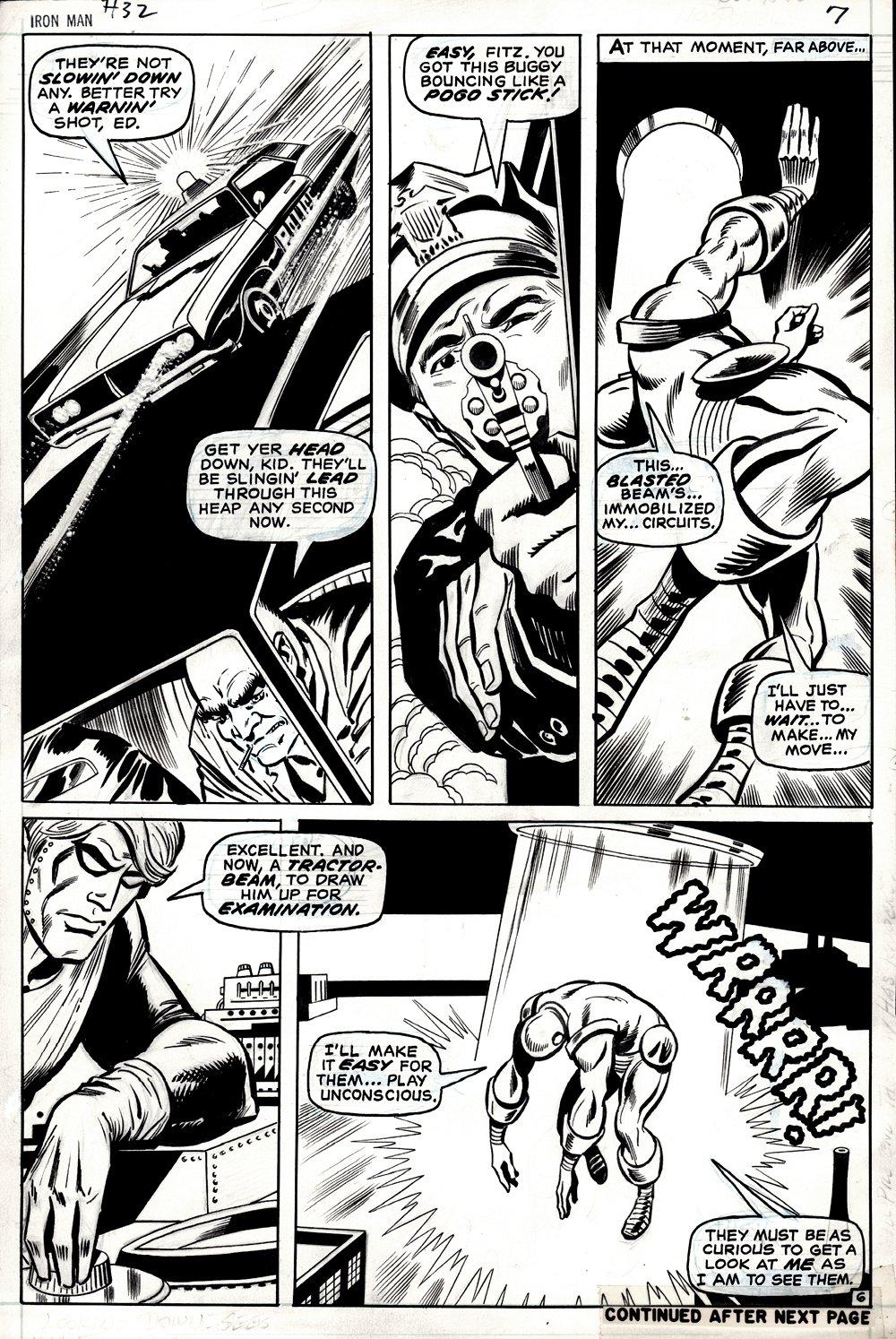 Iron Man #32 p 6 (IRON MAN!) 1970