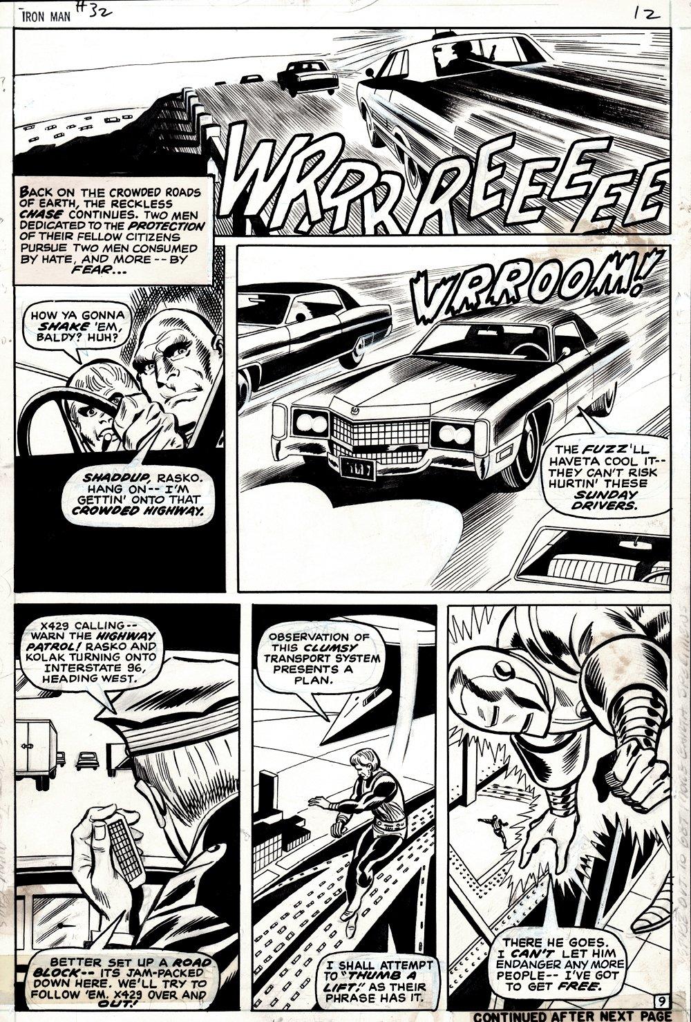 Iron Man #32 p 9 (IRON MAN!) 1970