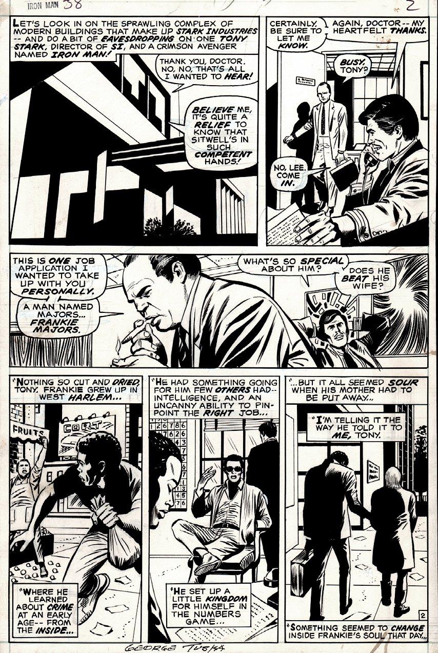 Iron Man #38 p 2 (1970)